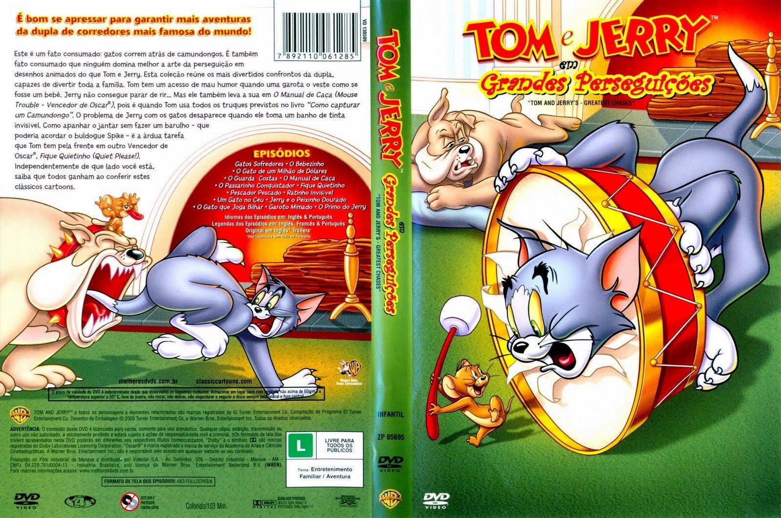 Biblioteca Dos Cartoons  Tom E Jerry Completo