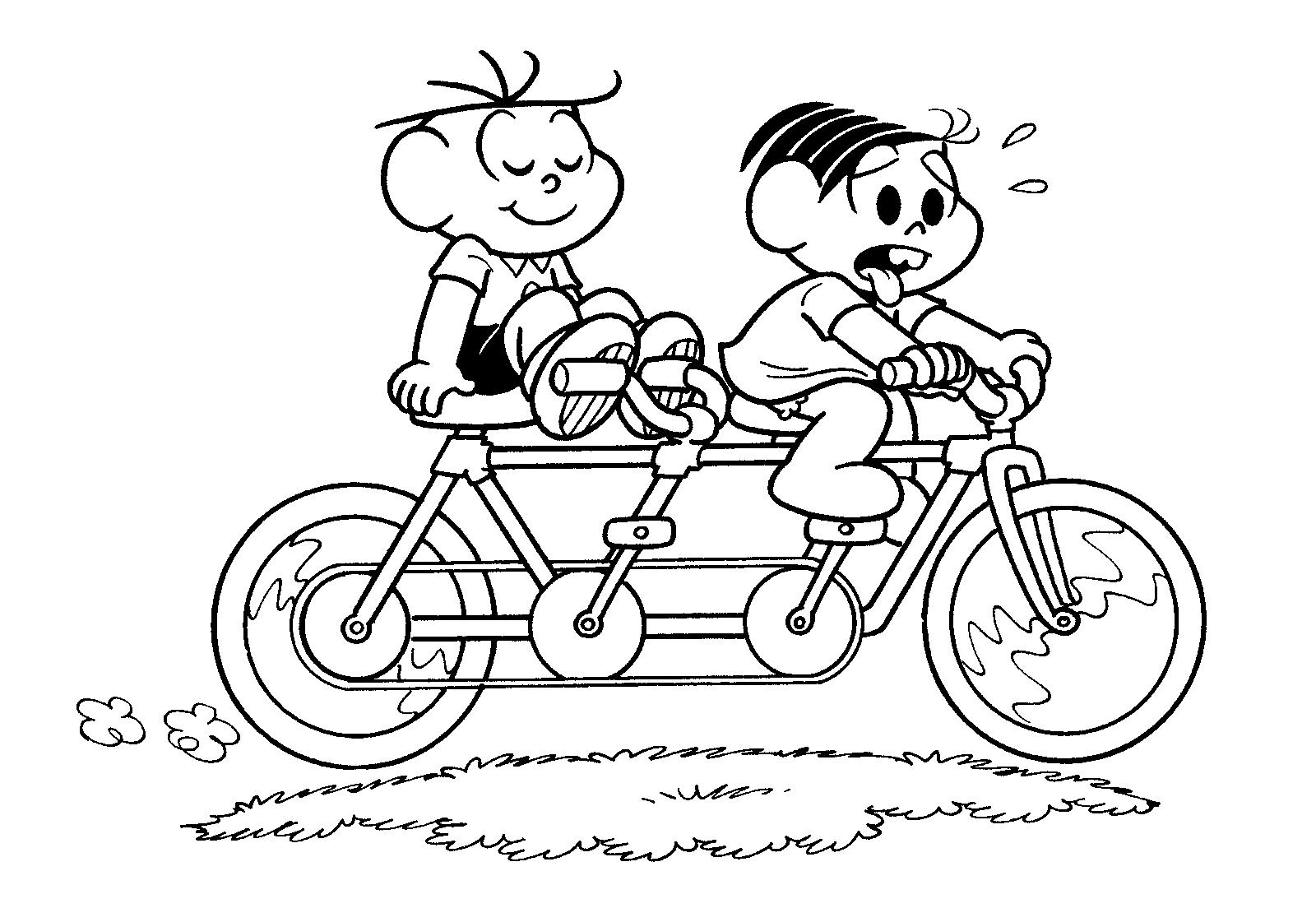 Bicicletas, Andando De Bicicleta