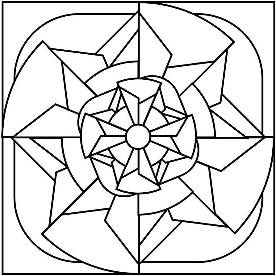 Desenhos geometricos para pintar - Como pintar mosaicos ...