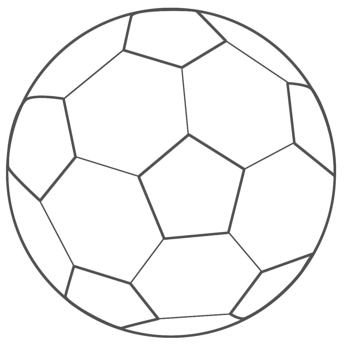 Bola Para Colorir
