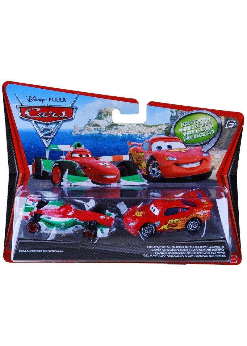 Brinquedos Carros Disney – Relâmpago Mcqueen E Francesco Bernoulli