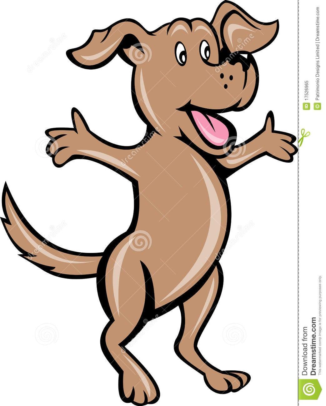 Cão De Filhote De Cachorro Do Animal De Estimação Dos Desenhos