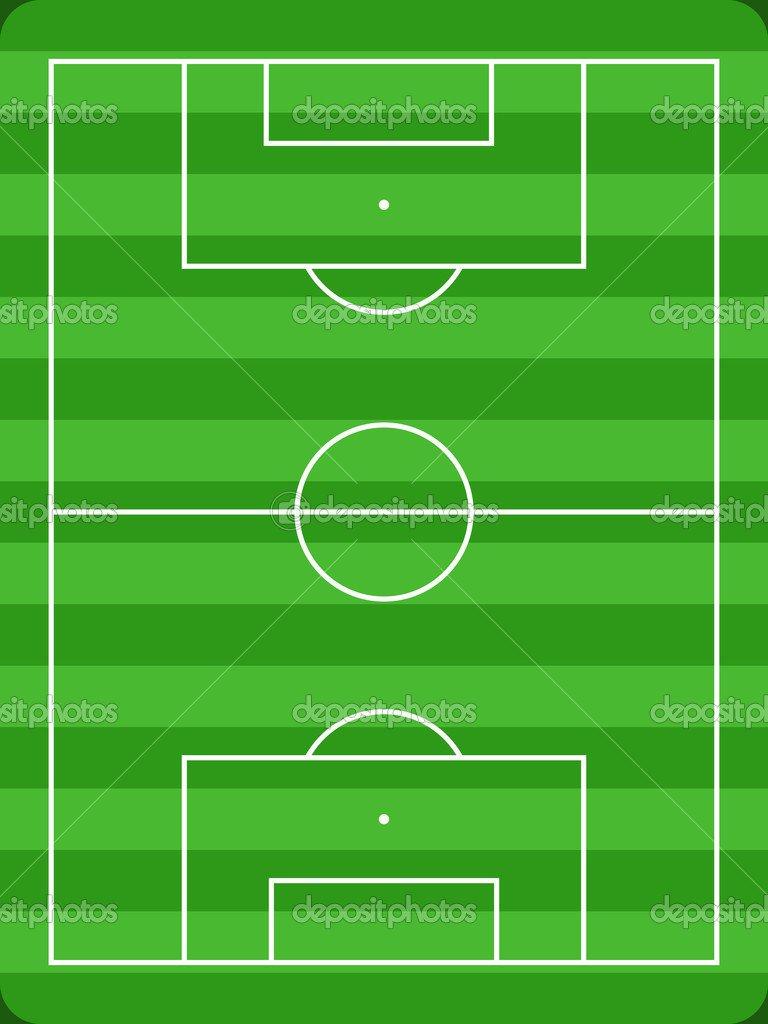 Campo De Futebol — Vetor De Stock © Tupungato  30272145