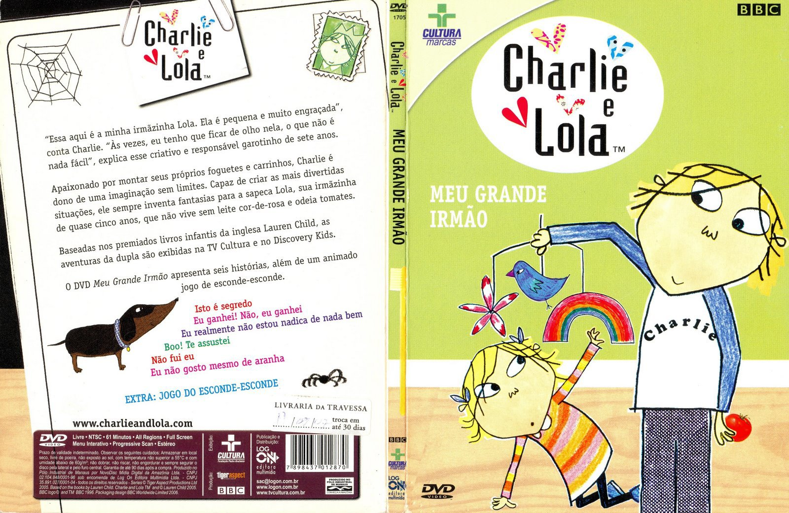 Charlie And Lola Dvd Related Keywords & Suggestions