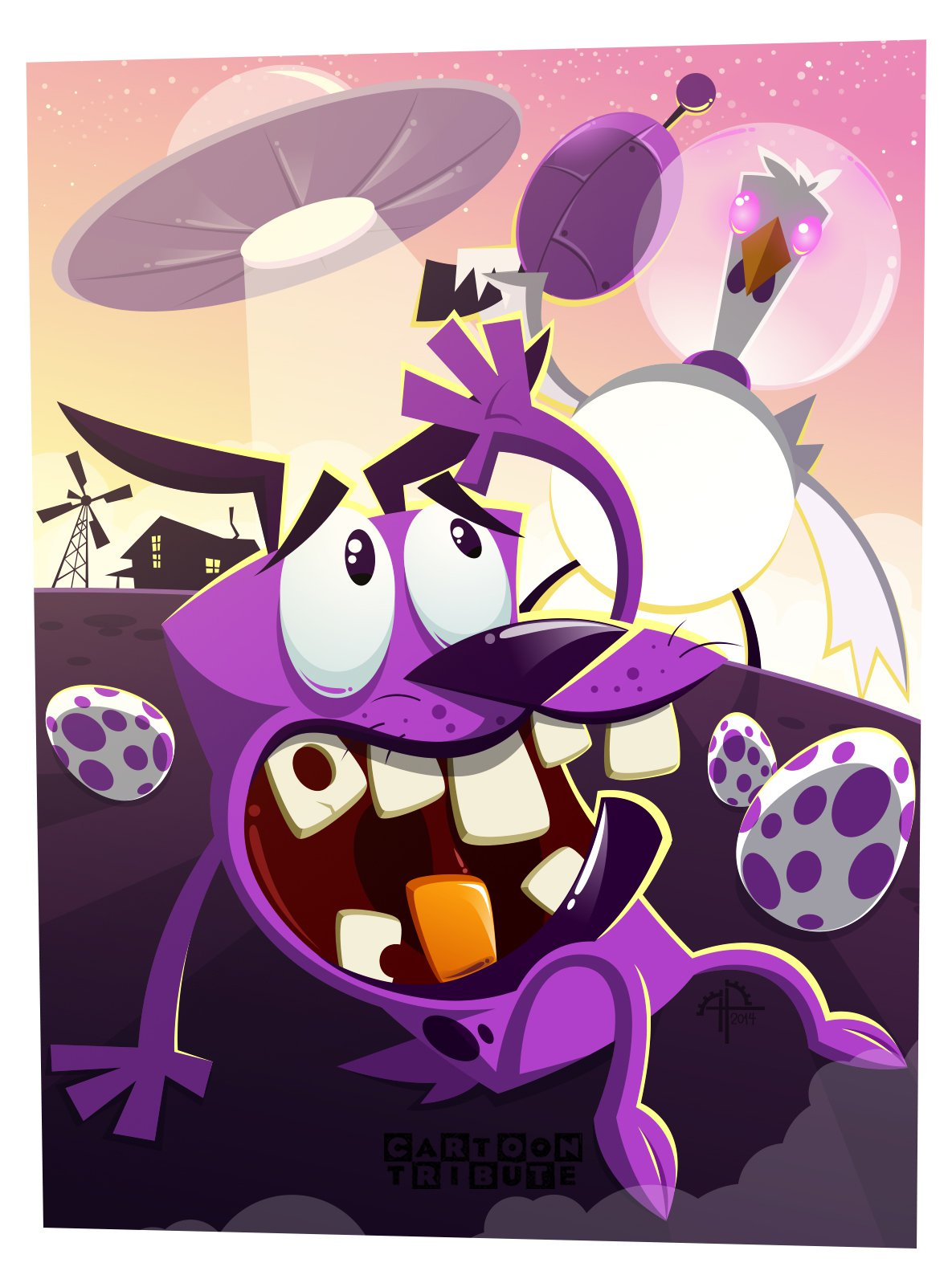 Personagem Do Cartoon Network