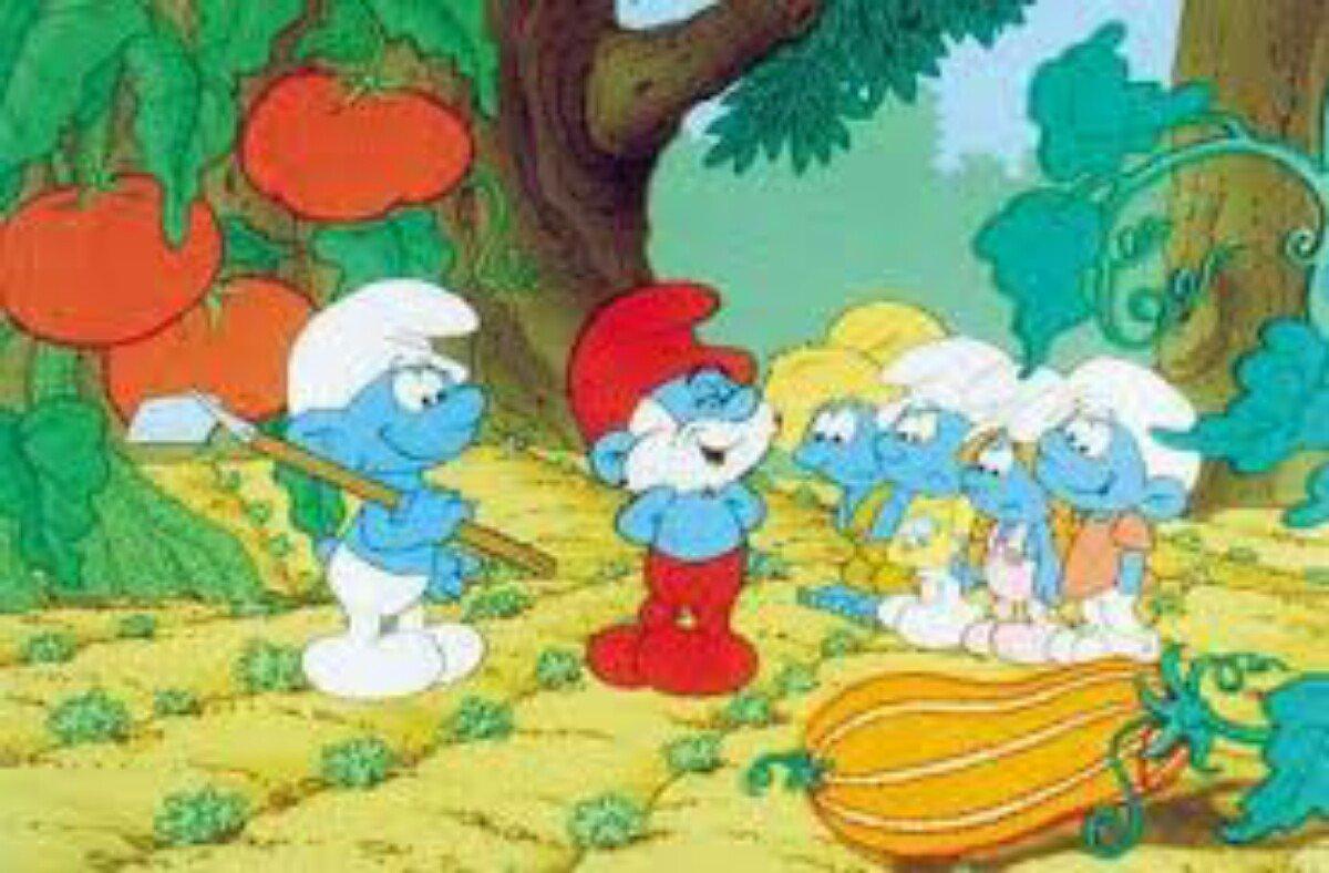 Coleção De Desenhos Os Smurfs