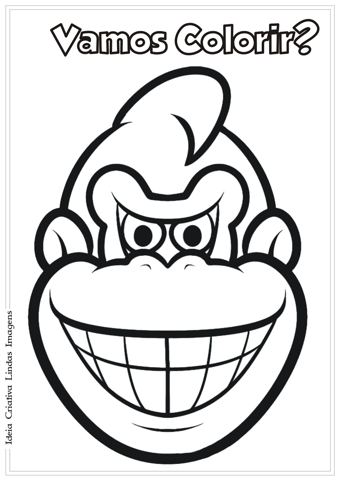 Coloring  Donkey Kong Coloring Pages Coloring Pages