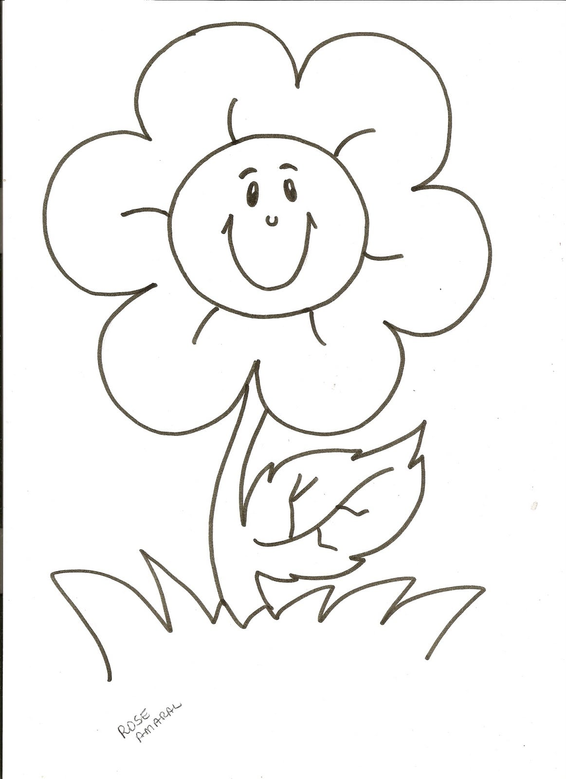Colorir Flores