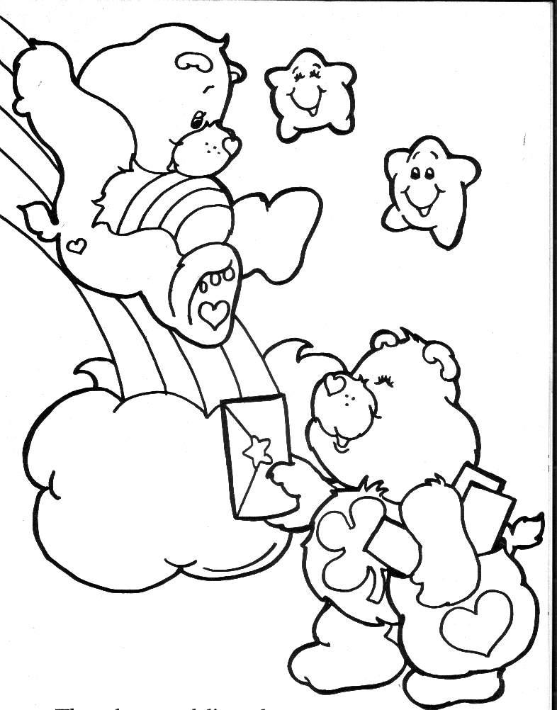 Colorir Ursinhos Carinhosos