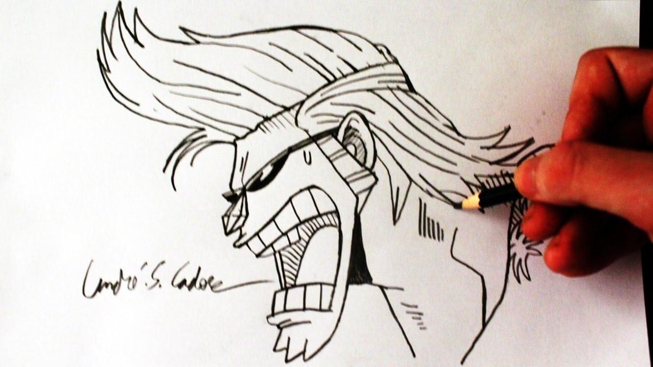 Como Desenhar Franky [one Piece]