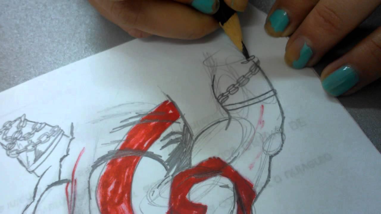 Como Desenhar O Deus Da Guerra