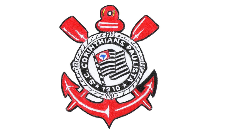 Como Desenhar O Escudo Do Corinthians (sc, Paulista)