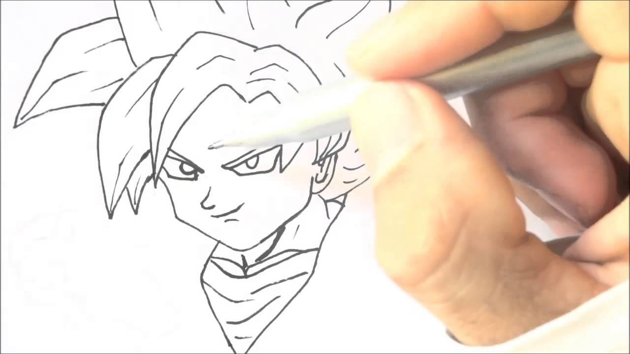 Como Desenhar O Goten Super Sayajin