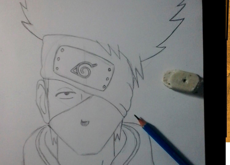 Como Desenhar O Kakashi
