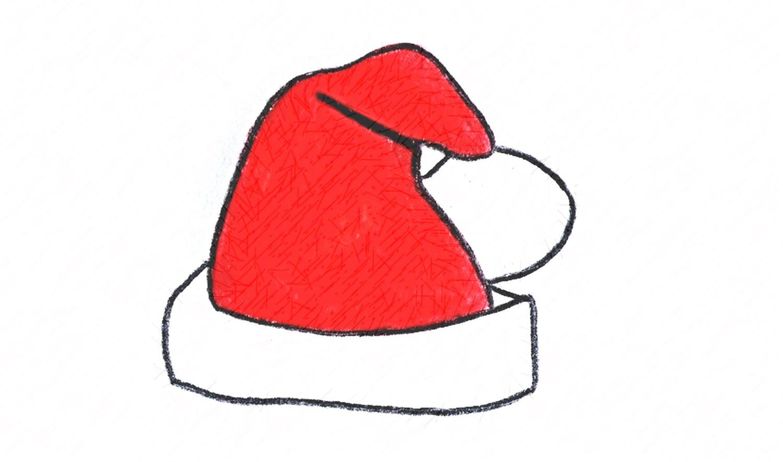 Como Desenhar Um Gorro Do Papai Noel (natal)