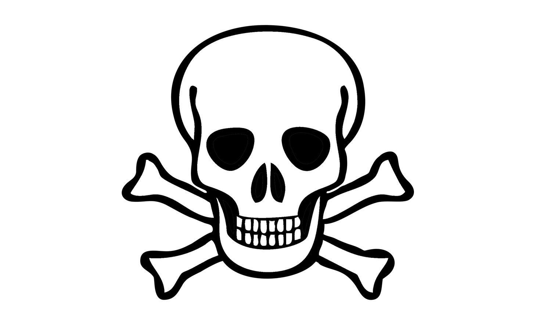 Como Desenhar Uma Caveira Pirata (crânio, Esqueleto)