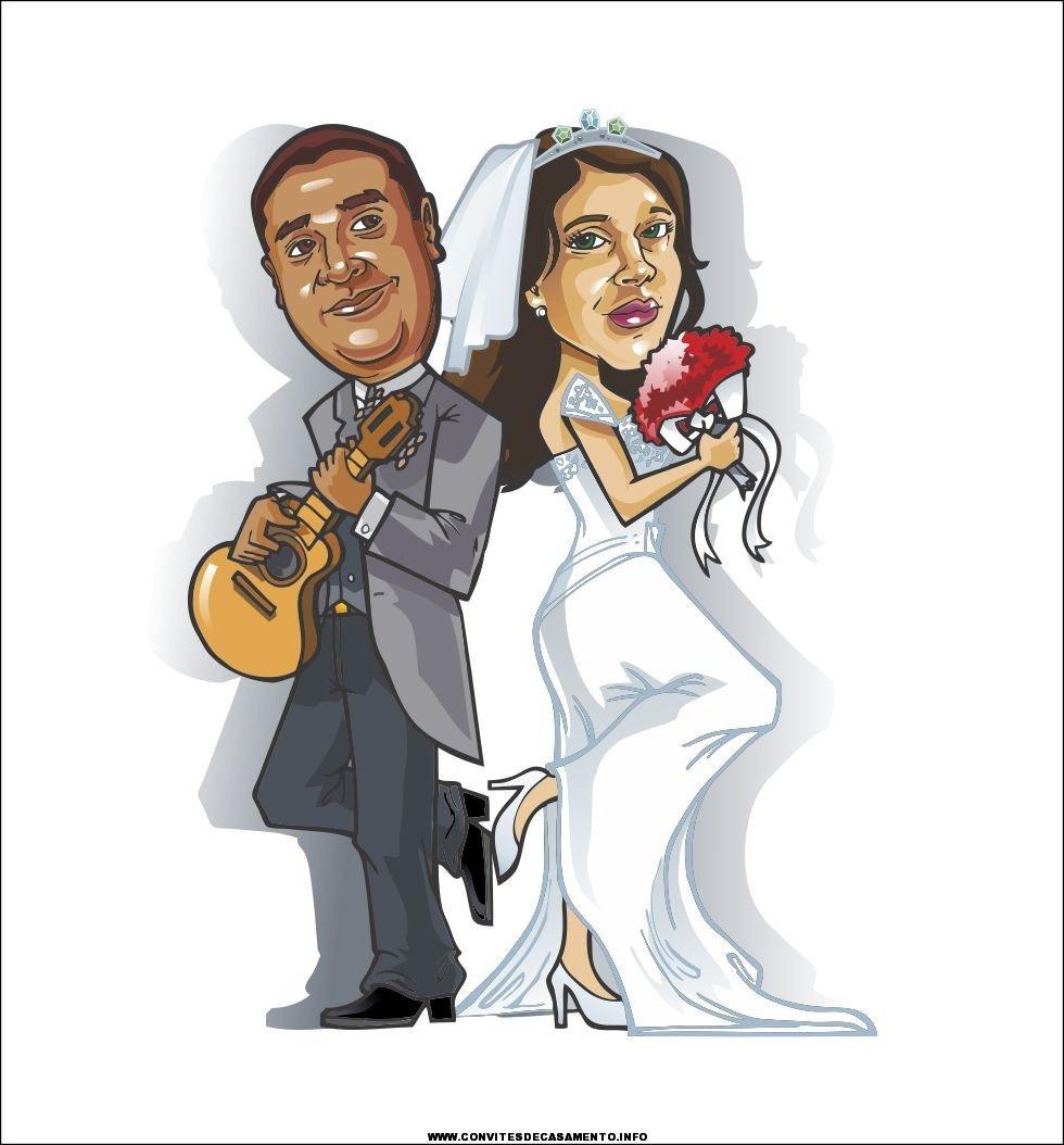 Convites De Casamento Com Desenhos Incríveis