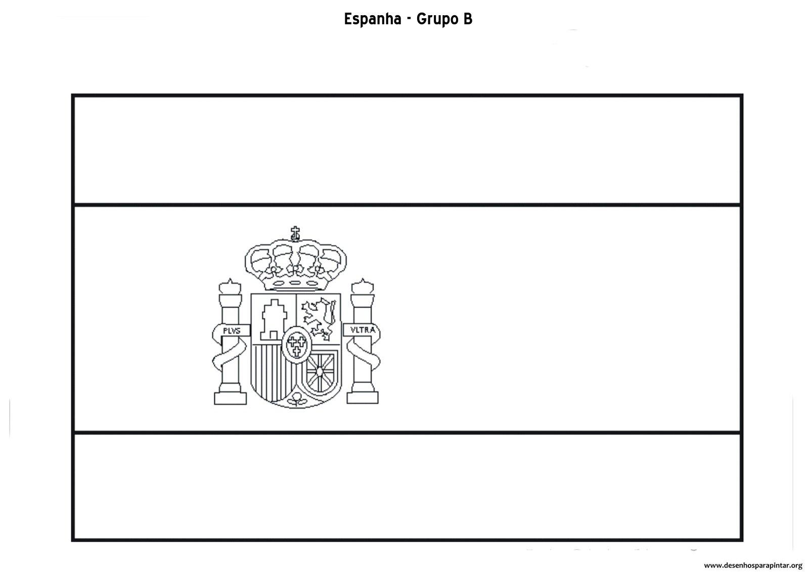 Copa 2014 – Bandeiras Das Seleções Do Grupo B – Austrália, Chile