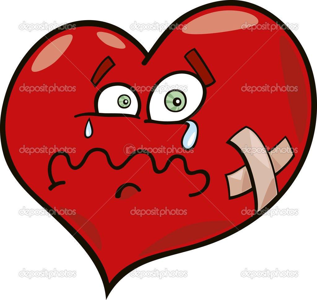 Coração Partido — Vetores De Stock © Izakowski  4636918