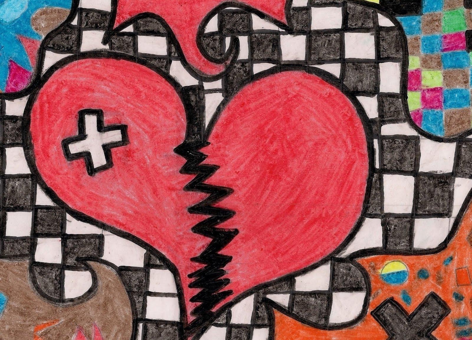 Coração Partido X Coração Flexível