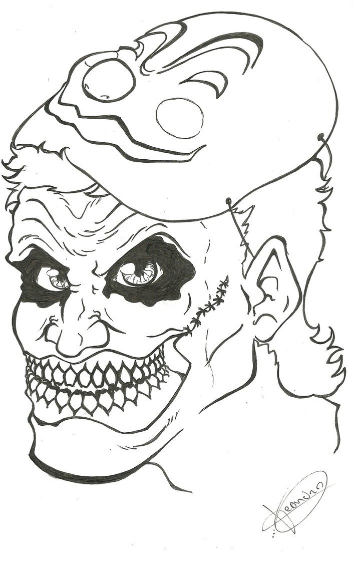 Coringa By Lekeart On Deviantart Free Coloring Pages