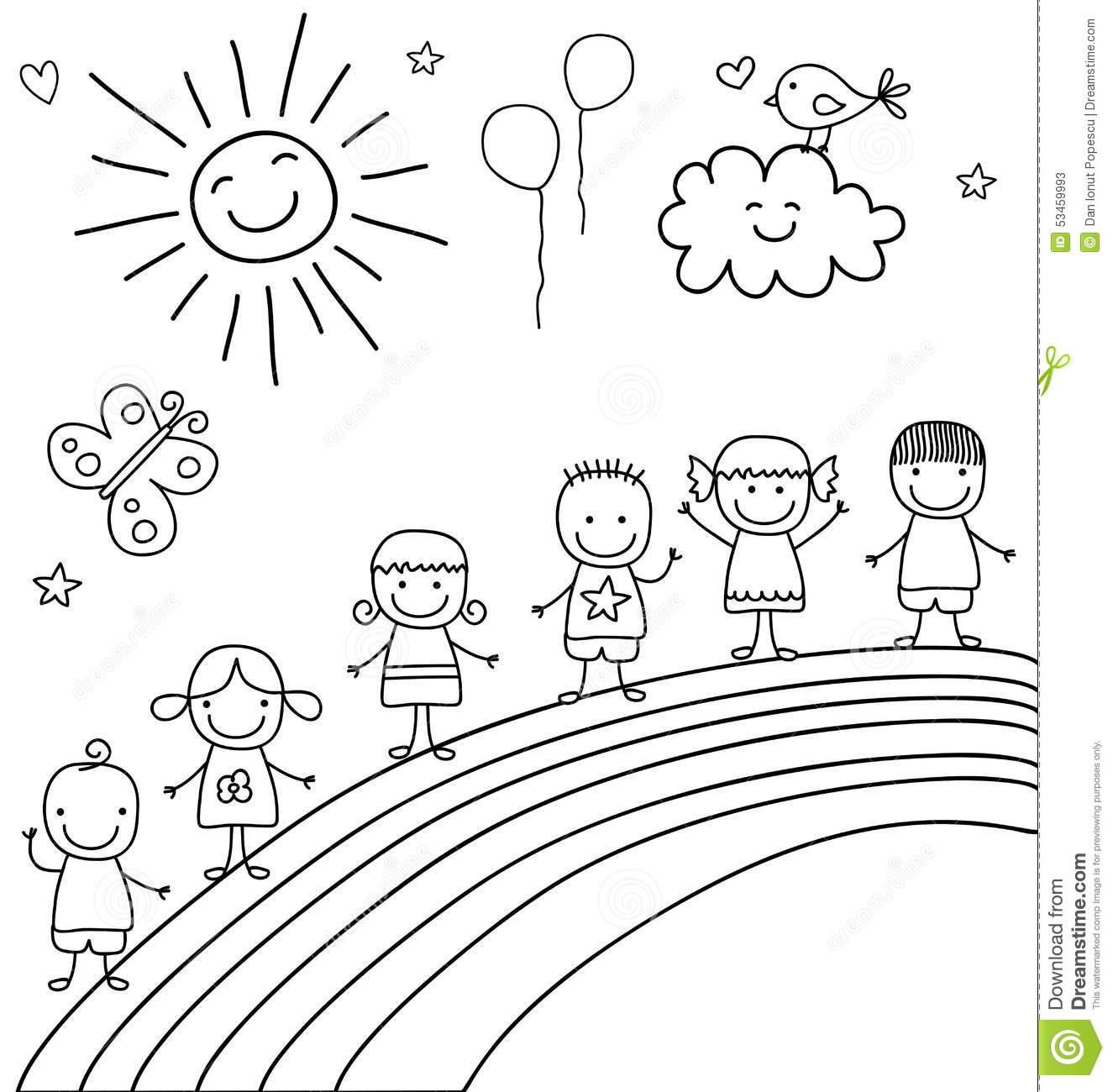 Crianças No Arco