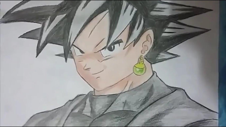 Desenhando Goku Black (dragon Ball Super )