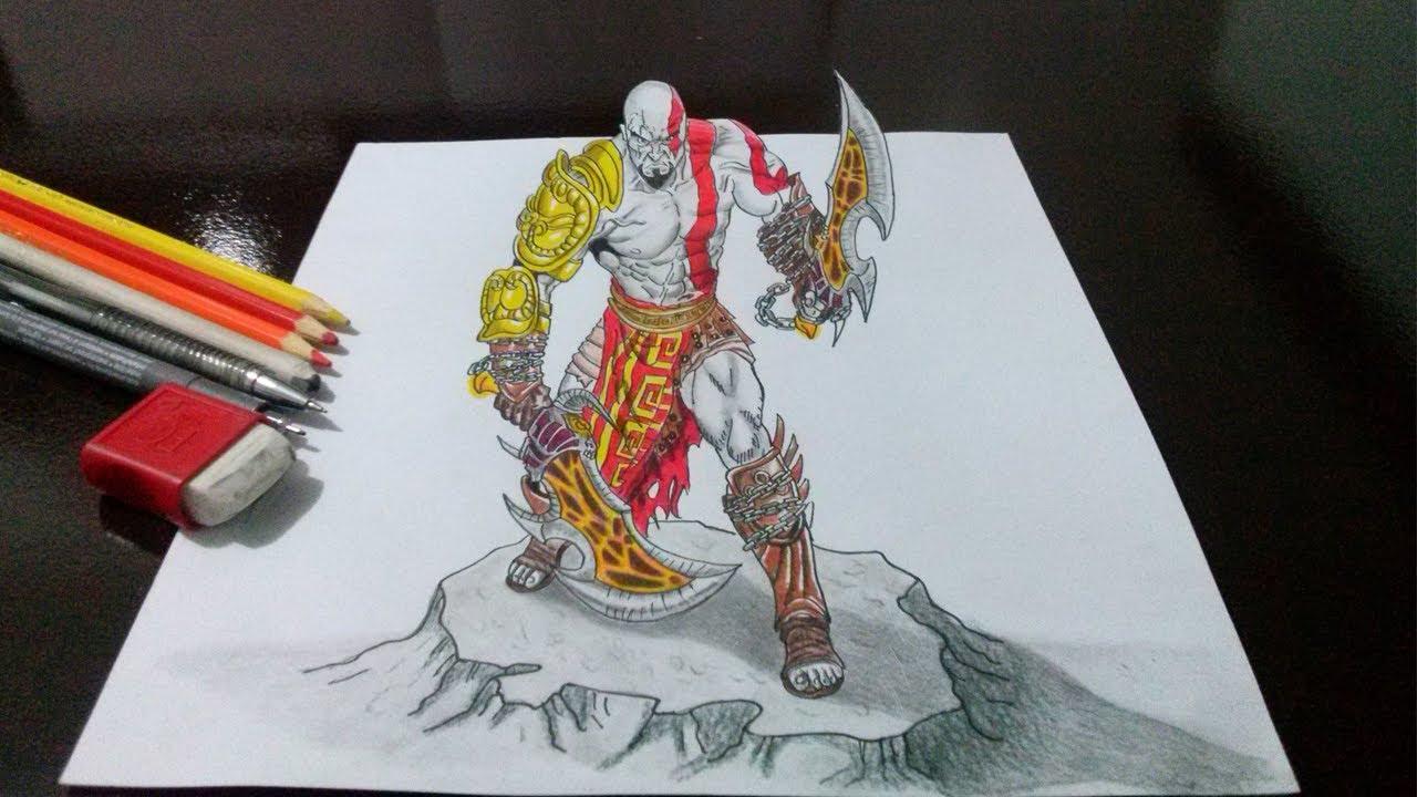 Desenhando O Kratos