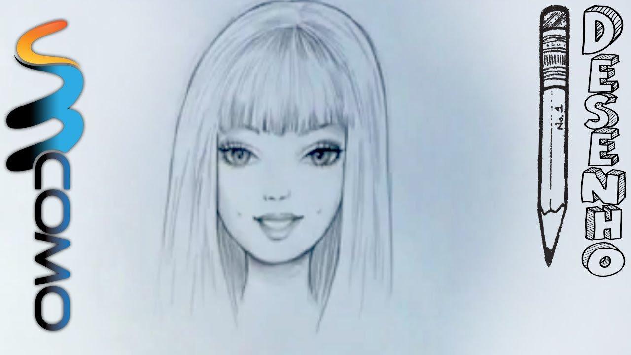 Desenhando O Rosto Da Barbie