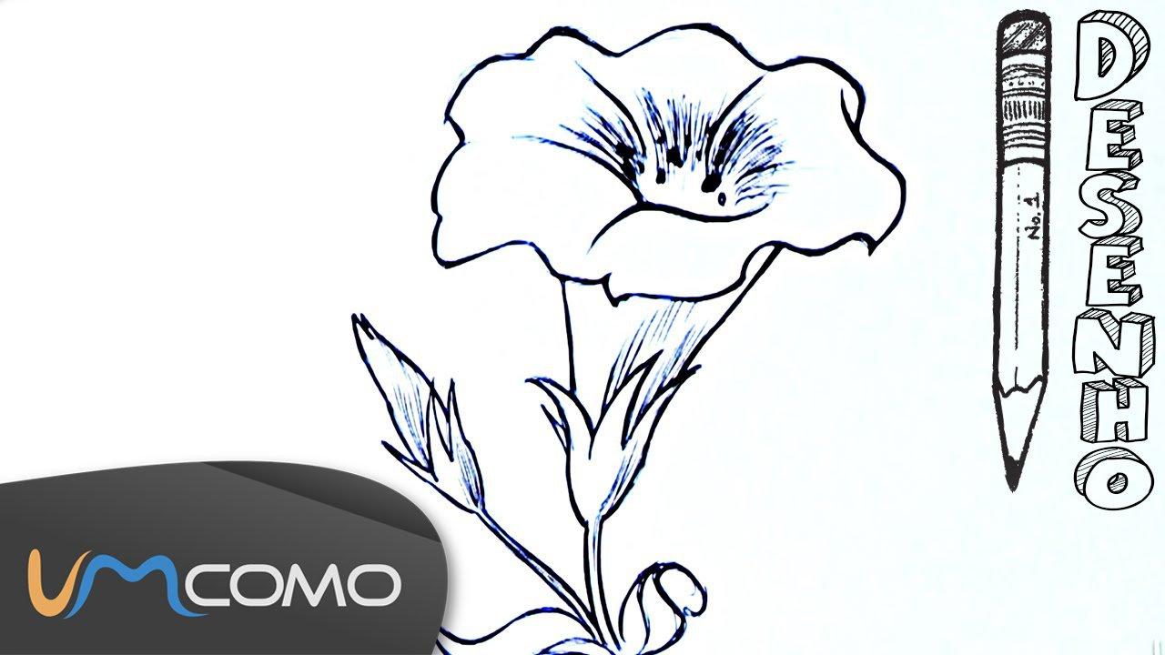 Desenhar Uma Flor De Forma Fácil