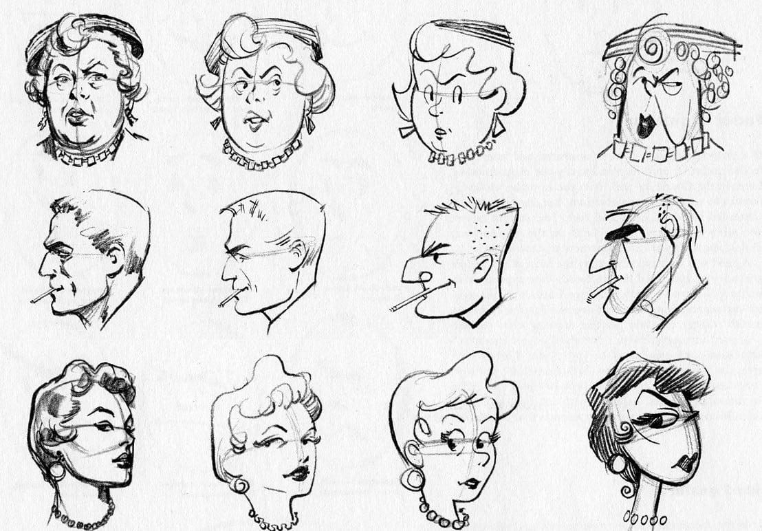 Desenho Cartoon  Cabeça ~ Tonelada De Cartoons