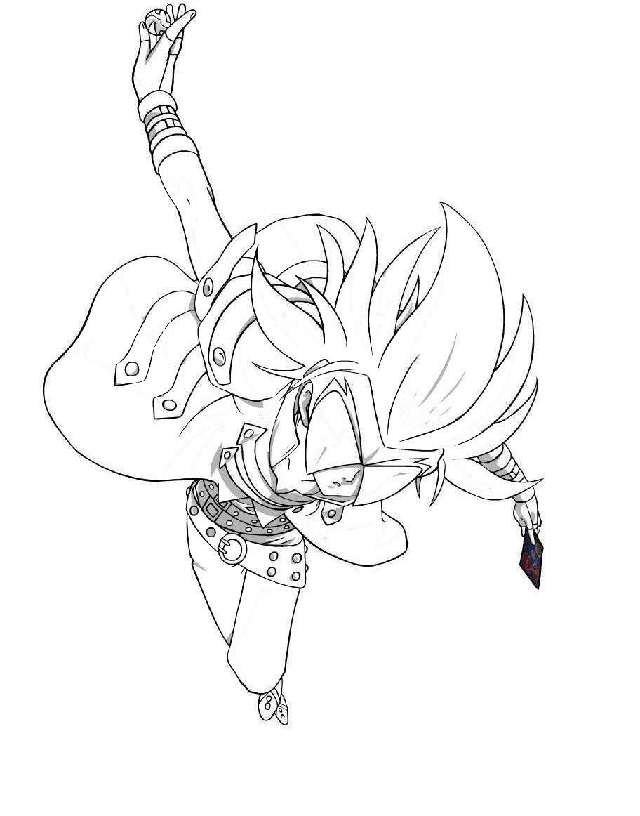 Desenho Da Bakugan Para Colorir