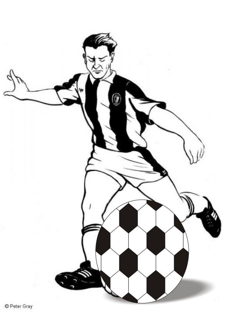 Desenho De Bola Futebol Para Colorir Jpg Public Domain