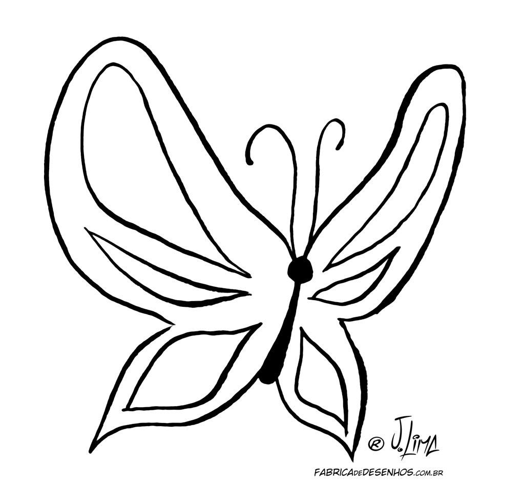 Desenho De Borboleta Para Colorir Sketch Coloring Page