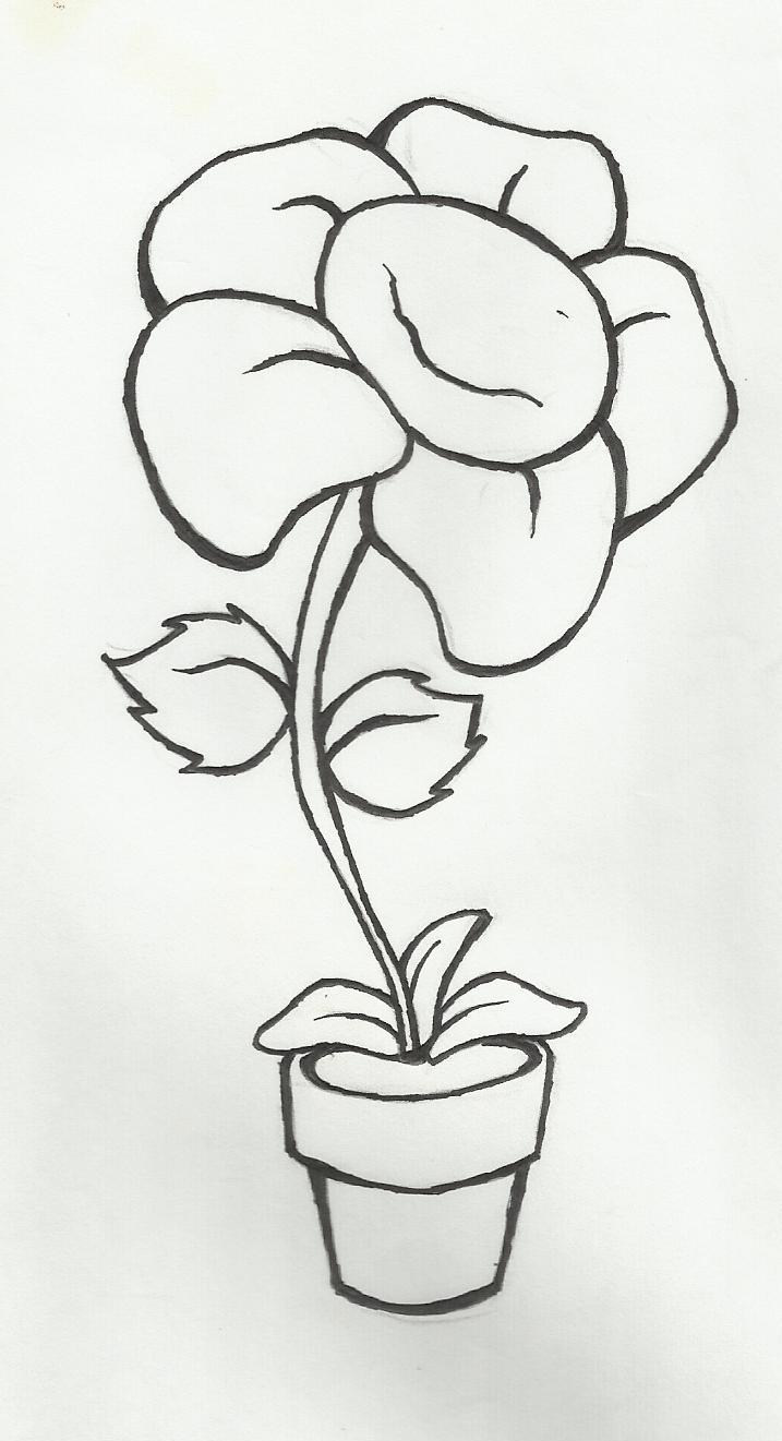 Desenho De Flor Related Keywords & Suggestions