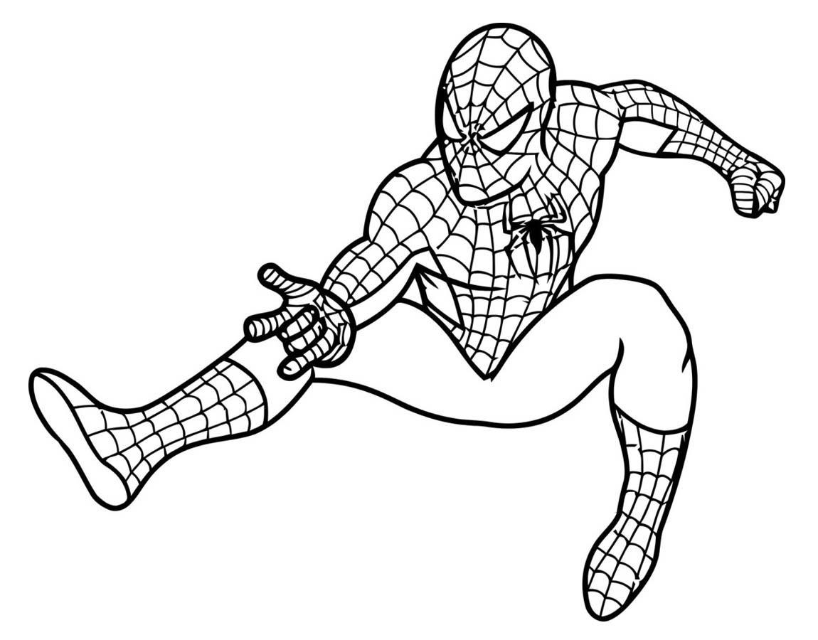 Desenhos Homem Aranha Para Imprimir