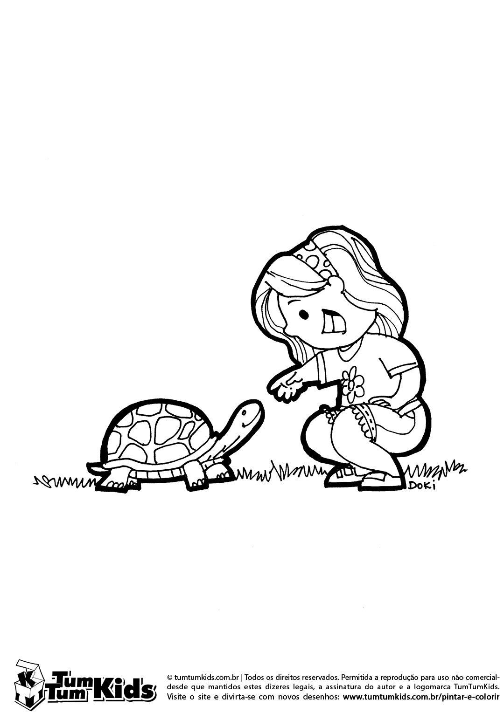 Desenho De Tartaruga Para Imprimir Az Dibujos Colorear Sketch