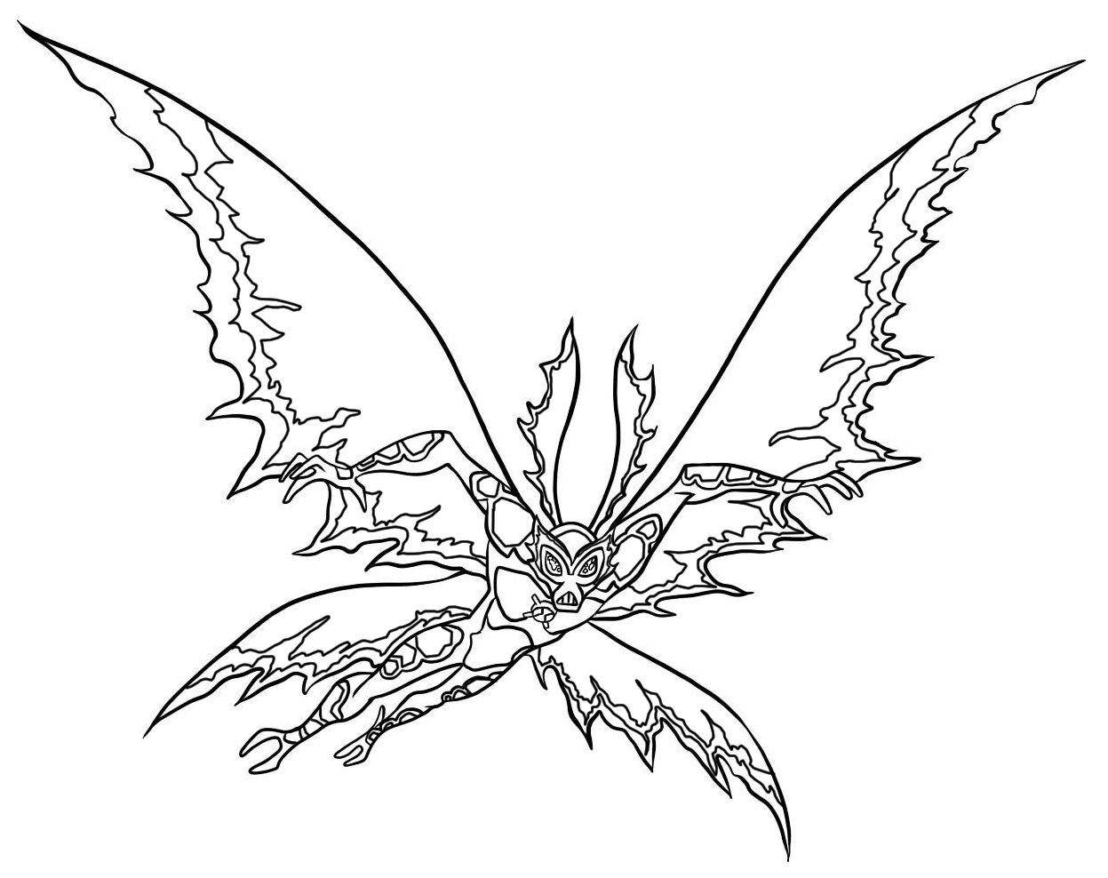Desenho Do Ben 10 Para Colorir ~ Imagens Para Colorir
