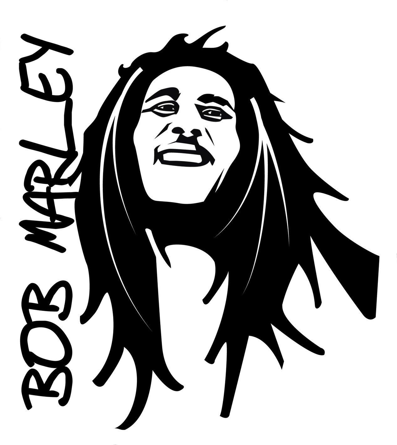 Bob Marley Cartoon Drawing at GetDrawingscom  Free for