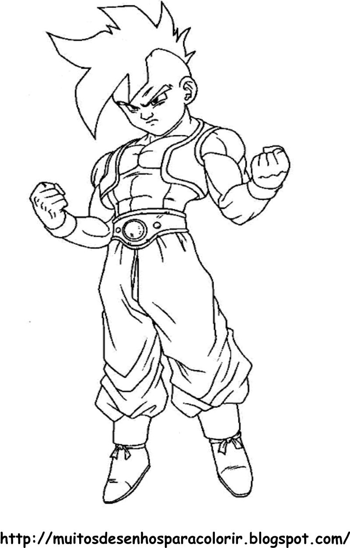 Desenho Do Dragon Ball Z