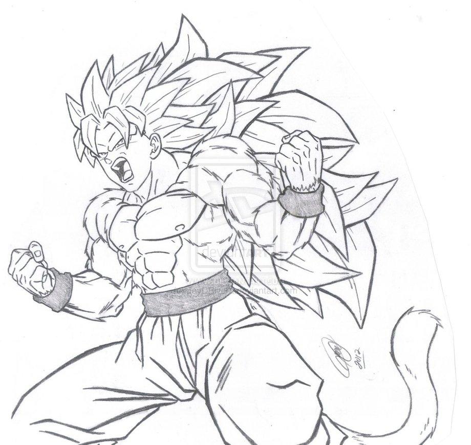 Dragon Ball Z Imagens Para Colorir