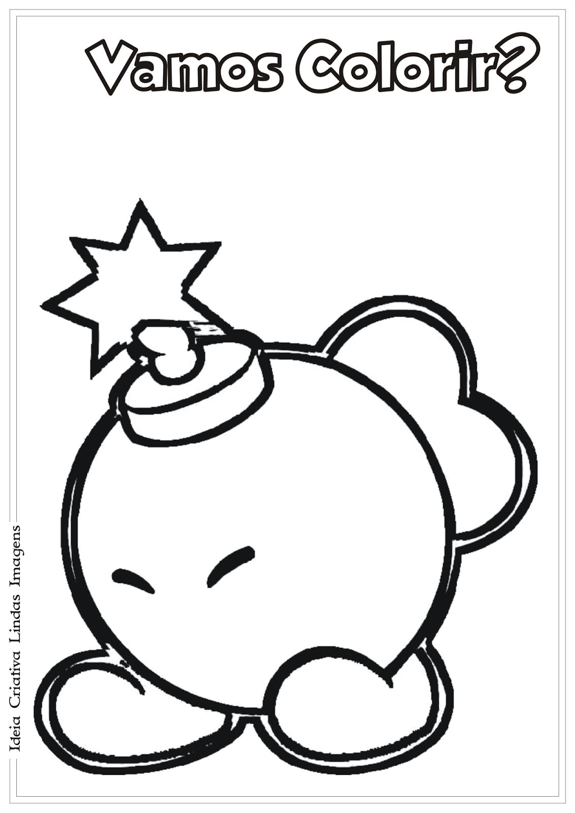 Desenho Do Super Mario Bros