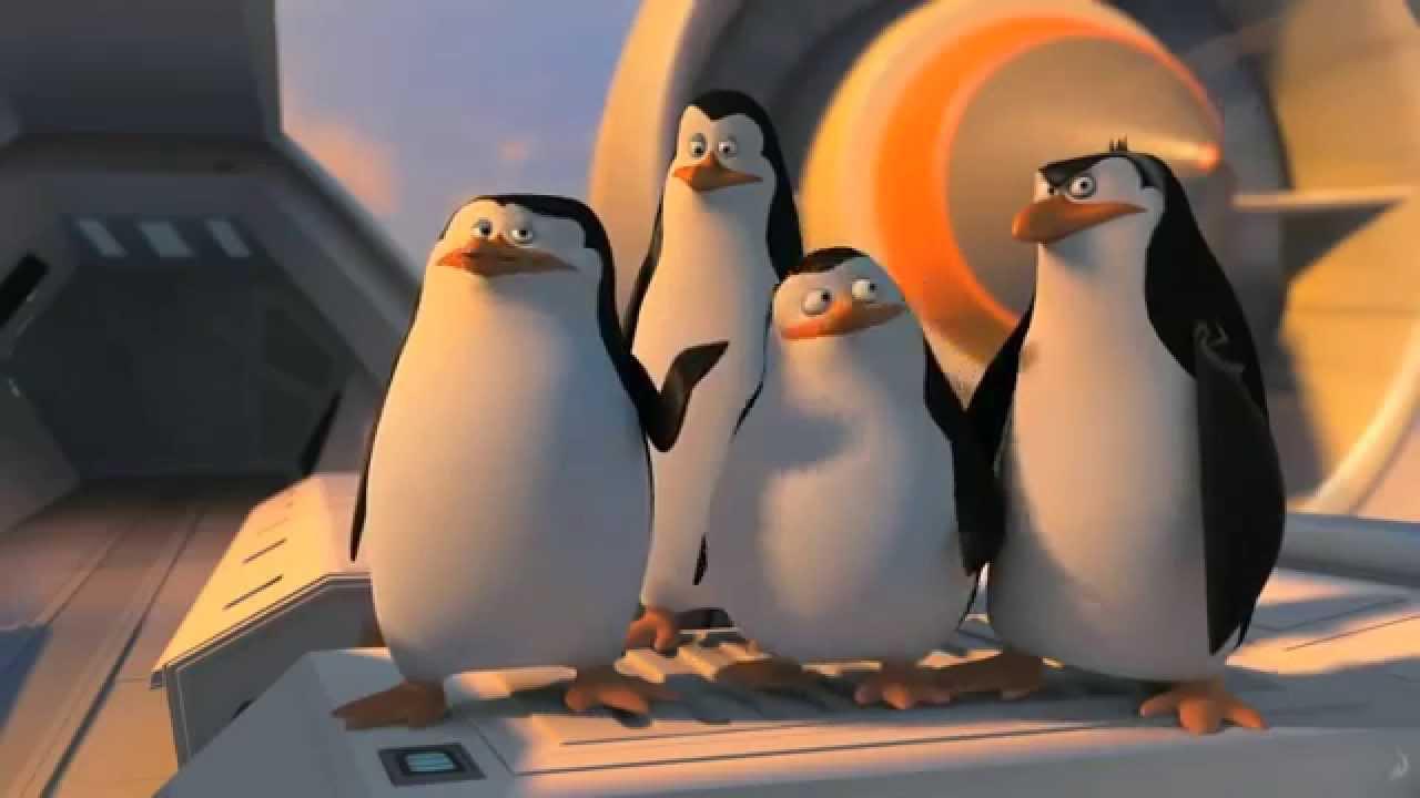 Desenho Os Pinguins De Madagascar