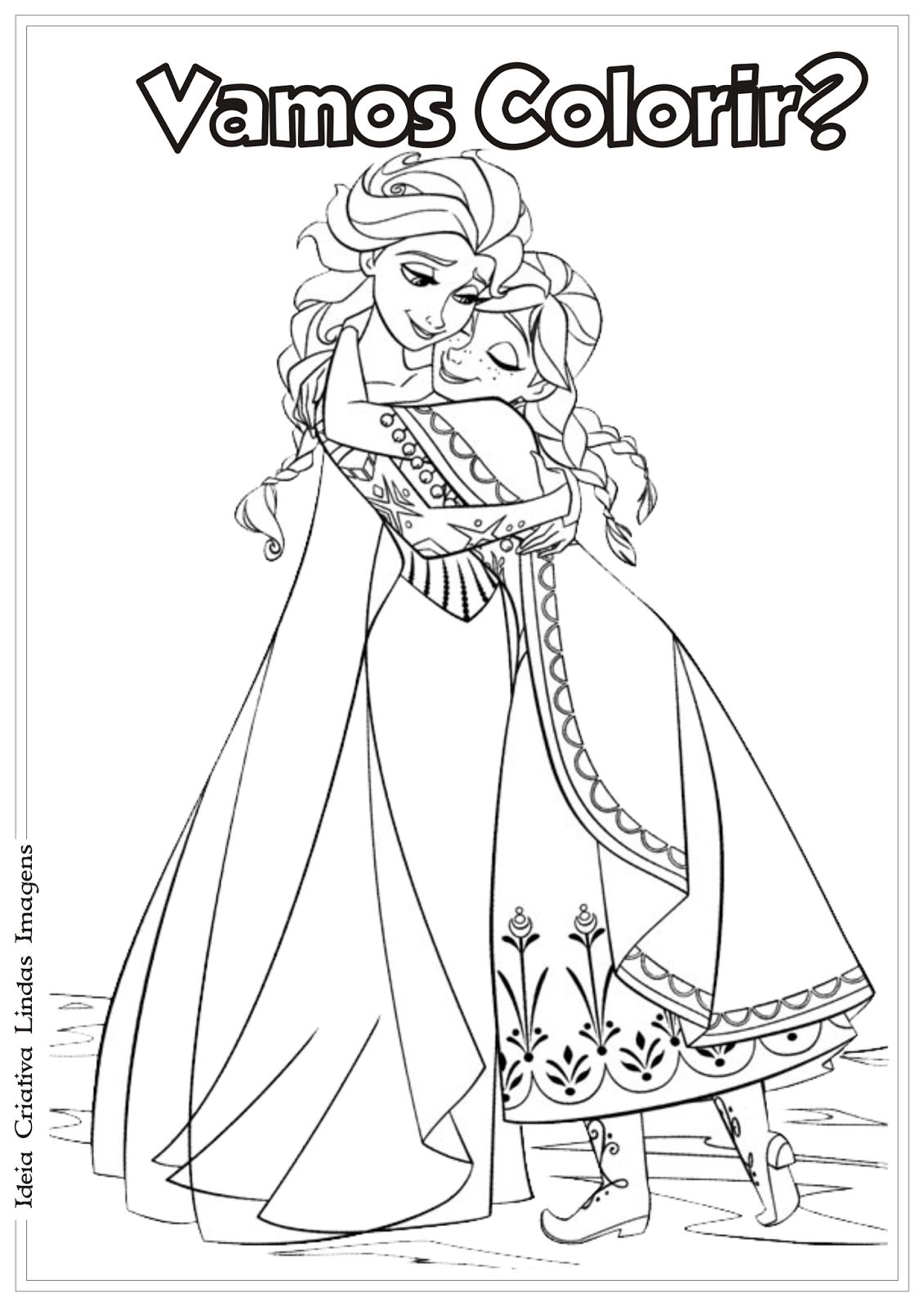 Desenho Para Colorir De Frozenart4search Com