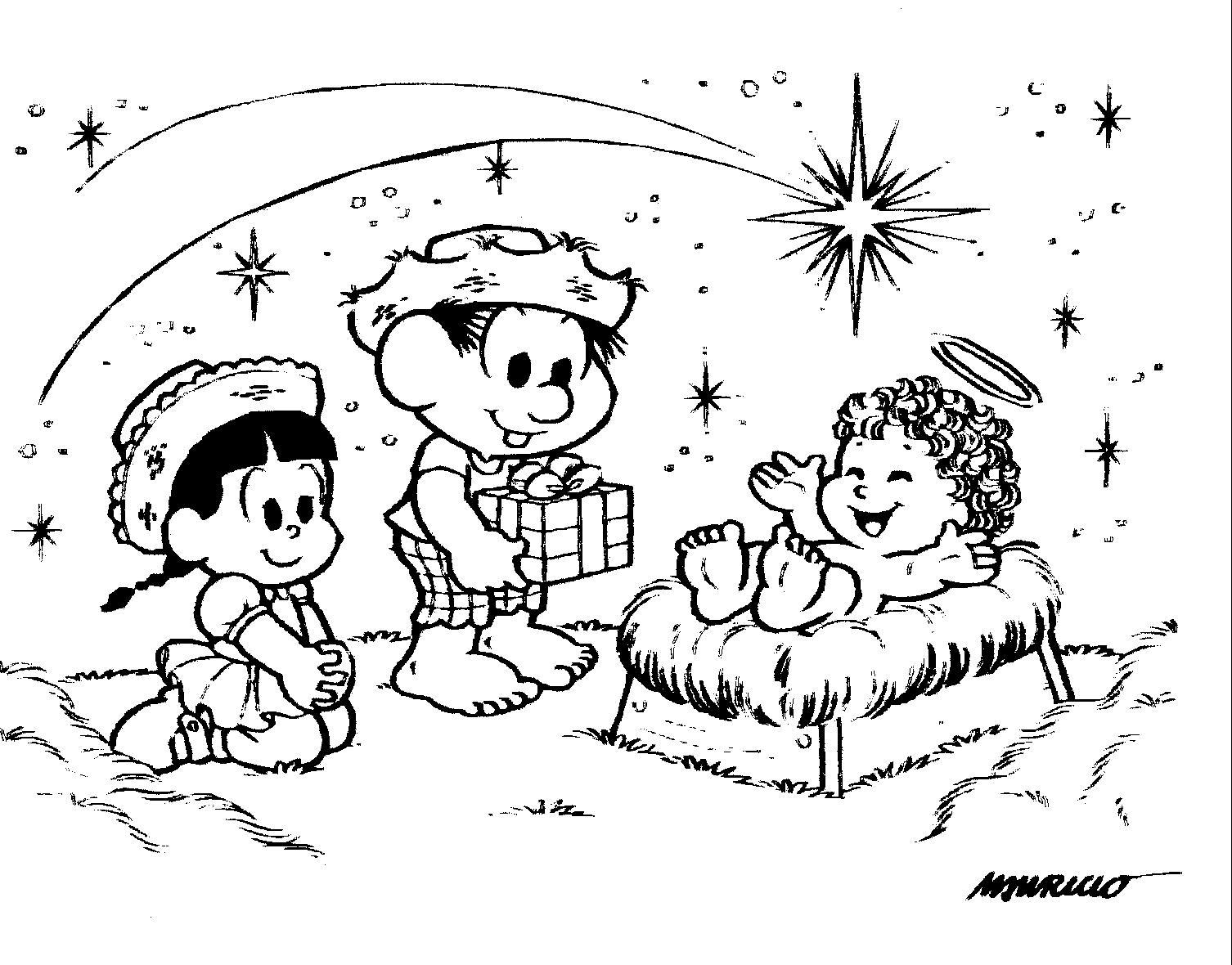 Desenho Para Pintar  Natal