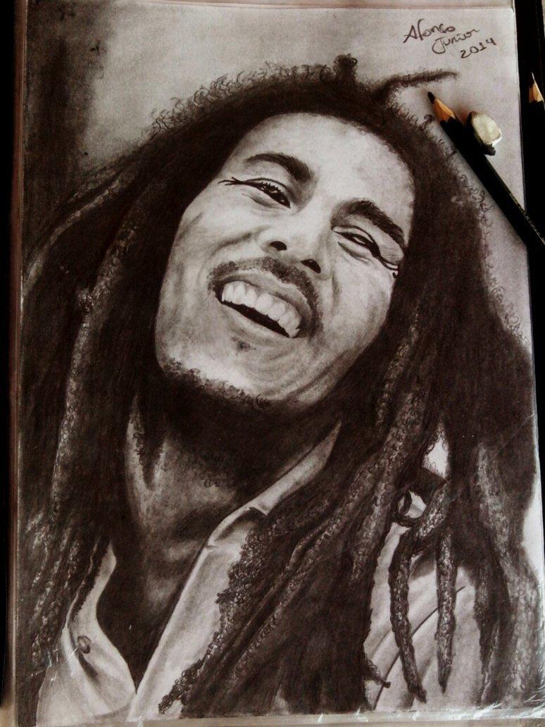 Desenho Realismo Bob Marley By Ahssj On Deviantart