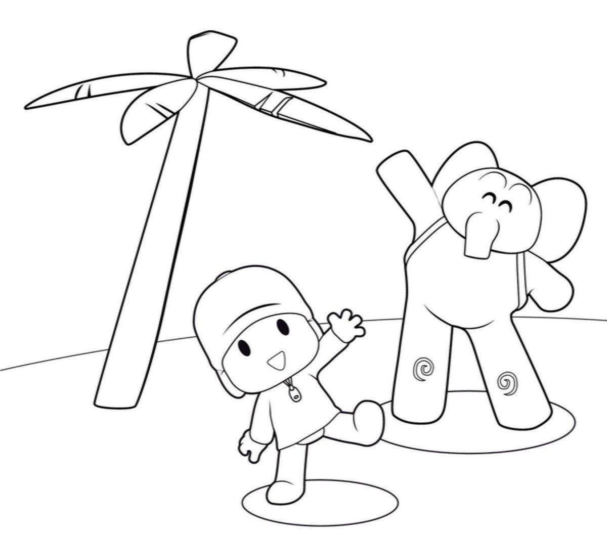 Desenhos Animados  Pocoyo