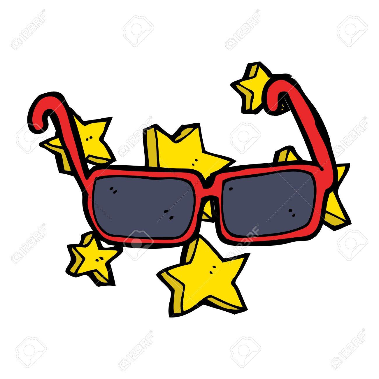 Desenhos Animados Caros óculos Royalty Free Cliparts, Vetores, E