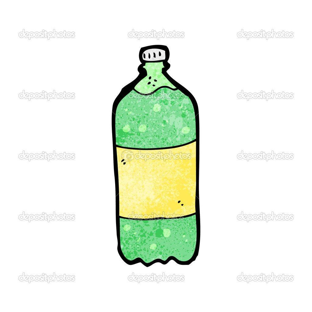 Desenhos Animados De Refrigerante — Vetor De Stock