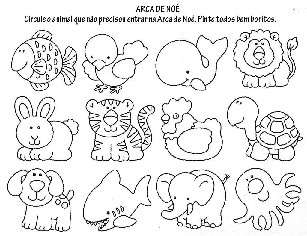 Desenhos Bíblicos Para Imprimir E Pintar